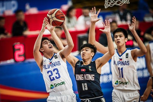 Batang Gilas vent ire on HK to book clash vs Japan in Fiba Asia Under-16 quarterfinals