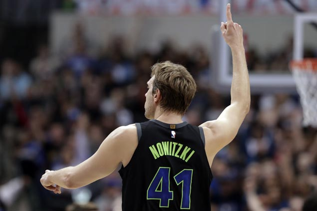 Dirk Nowitzki's 20th season ends with surgery on left ankle