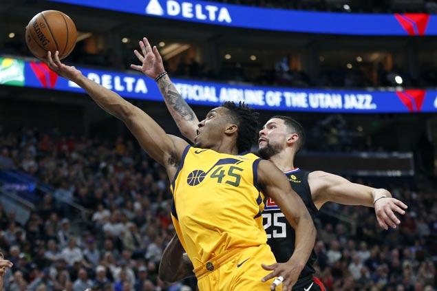 Jazz stay on track for homecourt advantage in Western Conference playoffs with rout of Clippers
