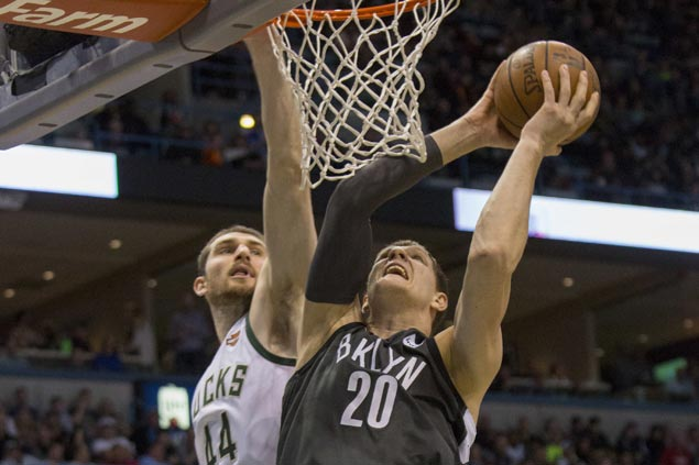 Also-ran Nets deal blow to Bucks' hopes of moving up from No. 8 in East