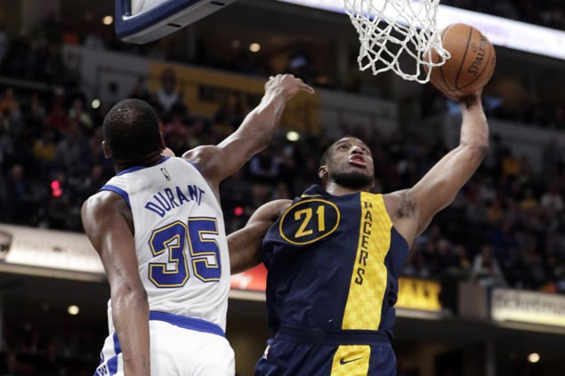 Pacers score season series sweep over the Warriors for the first time in six seasons