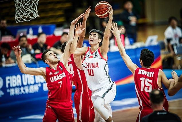 China turns back Lebanon to seal Fiba Asia U16 semis duel vs Batang Gilas
