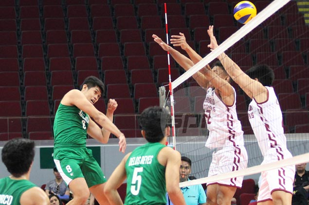 Ateneo gains share of lead, La Salle keeps slim semis hopes alive in UAAP volleyball