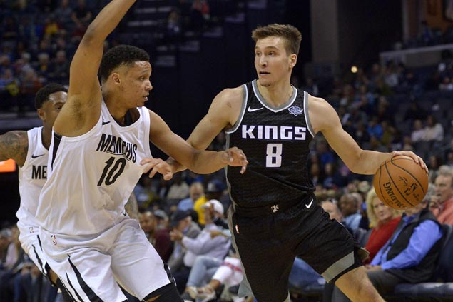 Bogdan Bogdanovic hits last-second jumper to propel Kings past Grizzlies