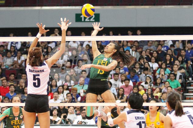 FEU Lady Tams set for fourth straight Final Four stint after five-set win over Adamson