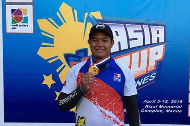 Paul Marton Dela Cruz wins compound gold in Asia Cup Stage 2