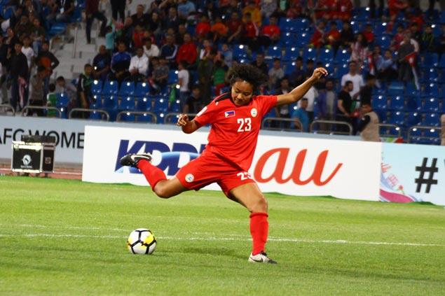 Sarina Bolden goal powers Philippine Malditas past host Jordan in opener of Women's Asian Cup