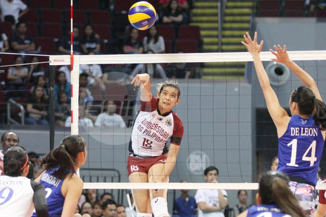 Lady Maroons stay in contention for semis, keep Lady Eagles from securing twice-to-beat edge