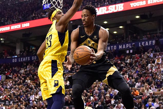 Raptors rout Pacers to clinch East top seed for first time in franchise history