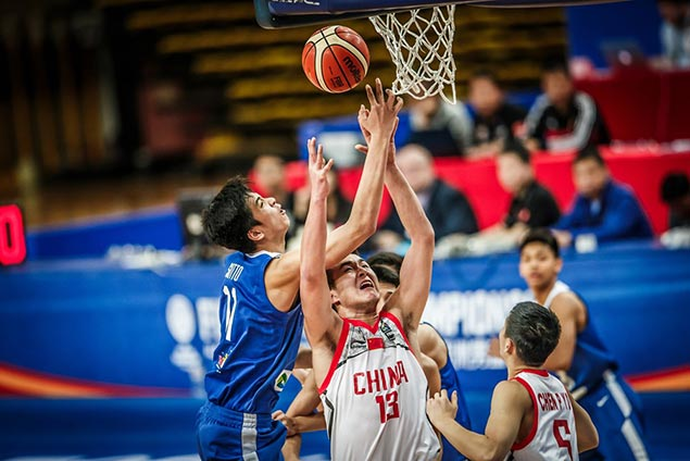 Kai Sotto 20-20 game not enough as Batang Gilas bows to China in Fiba Asia U16 semis