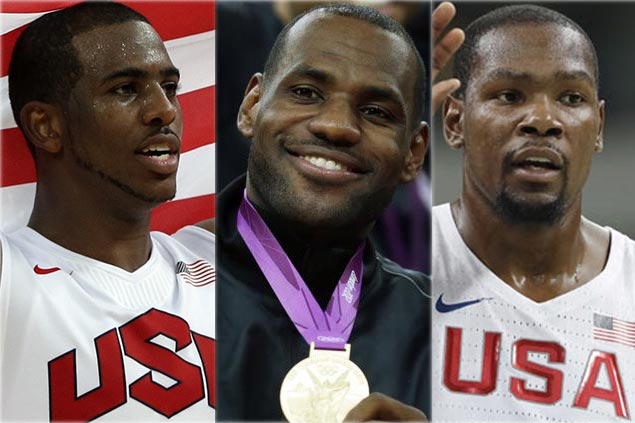 LeBron on quest for fourth Olympics, KD and CP3 aim for third as part of 35-man Team USA pool