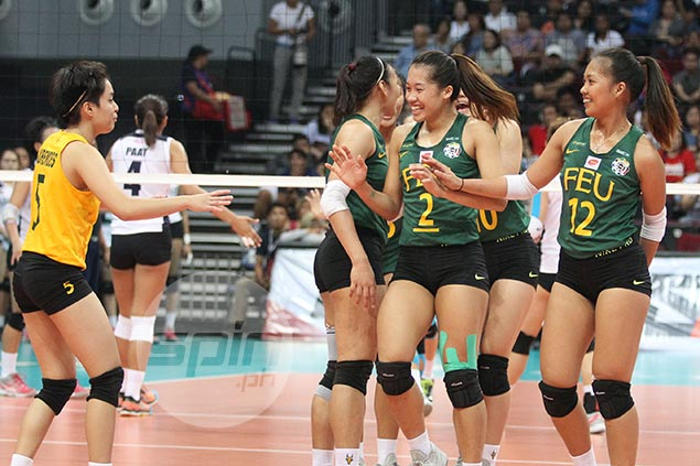 Graduating spiker Bernadeth Pons aims higher after leading FEU to another Final Four stint