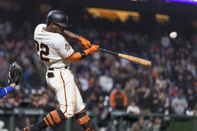 Andrew McCutchen 14th-inning homer lifts Giants over Dodgers