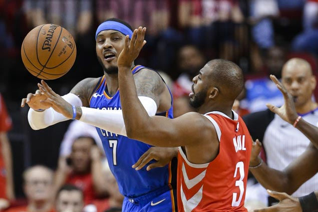 Thunder use huge fourth-quarter run to beat Rockets and boost playoff bid