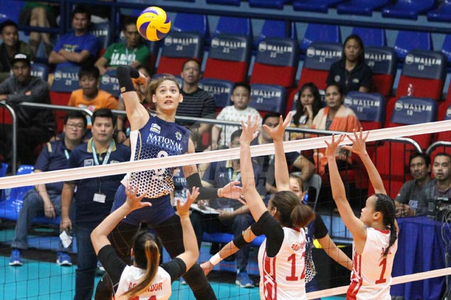 Lady Bulldogs end five-match skid with rout of also-ran UE, eliminate UP and UST