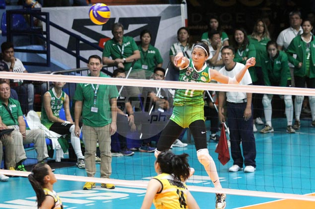 Lady Spikers close in on twice-to-beat advantage with rout of also-ran Tigresses