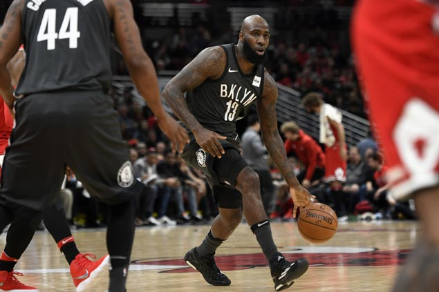 Quincy Acy shows way as Nets flirt with NBA record with 24 three-pointers in rout of Bulls
