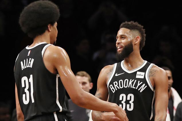 Allen Crabbe scores career-high 41 as Nets beat Bulls to post first three-game win streak in over a year
