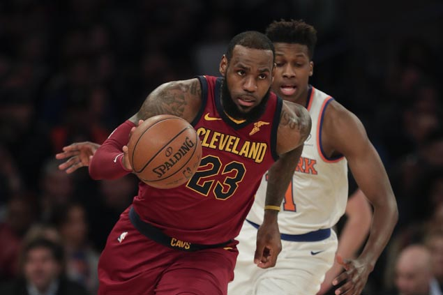 Cavs down Knicks to claim Central Division title, close gap on East No. 3 Sixers