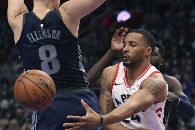 East top seeds Raptors erase early 17-point deficit to beat also-ran Pistons