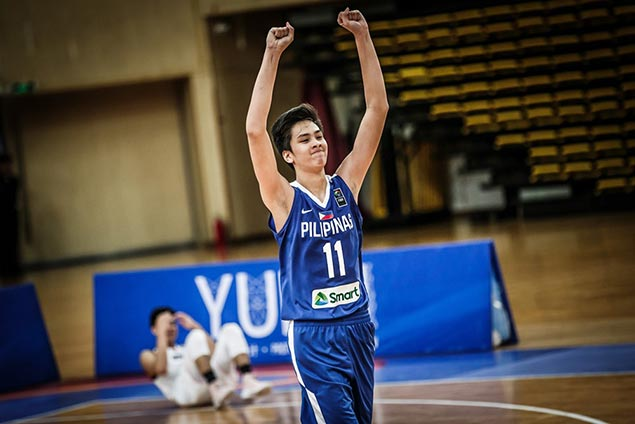 Batang Gilas grouped with Croatia, Argentina, France in Fiba U17 World Cup