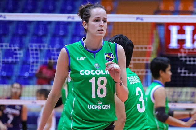 New Cocolife import Marta Drpa vows to bounce back as strong debut not enough to beat Petron