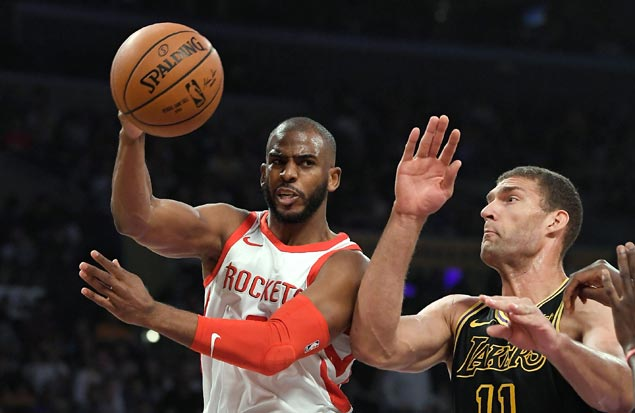 Rockets, locked into the top seed in West, keep steamrolling toward playoffs with win over Lakers
