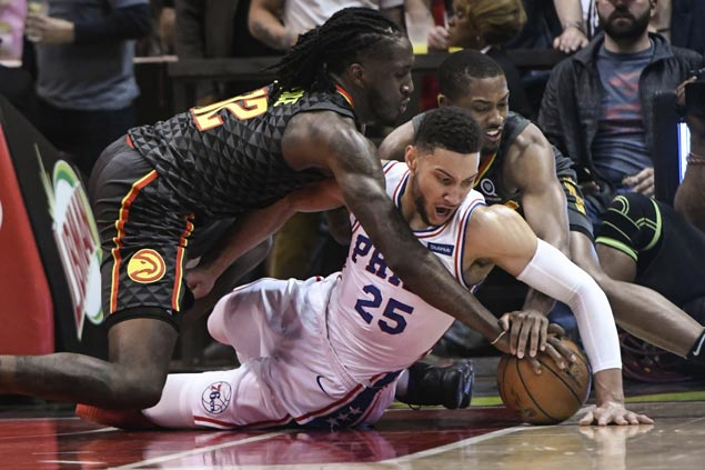 Sixers move closer to locking up No. 3 seed, down Hawks for franchise record 15th straight win