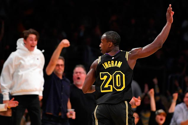 Andre Ingram's long-awaited NBA debut with Lakers is the stuff dreams are made of