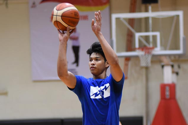 Ricci Rivero, CJ Perez attend second practice as Gilas cadets await Kobe Paras arrival