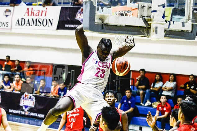 Ebondo vows to play through pain as 30-20 game in return from back injury not enough to lift CEU