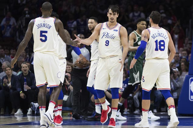 Sixers clinch No. 3 seed in Eastern Conference as Cavaliers end up in fourth