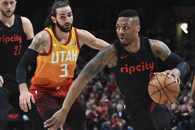 Lillard takes charge as Blazers top Jazz to claim third seed and send Utah to fifth place