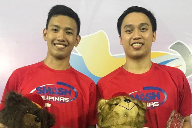 Magnaye-Morada, Leonardo-Pomar complete treble in Prima Open grand slam badminton