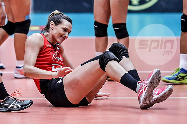 Cignal import Sonja Milanovic's PSL Grand Prix stint ends early due to ankle injury