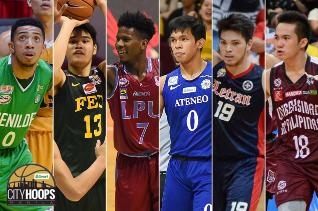 Three UAAP teams, three from NCAA battle for City Hoops 25-under basketball title