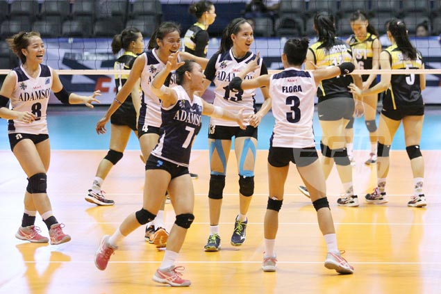 Adamson Lady Falcons rip UST Tigresses to bow out with a bang