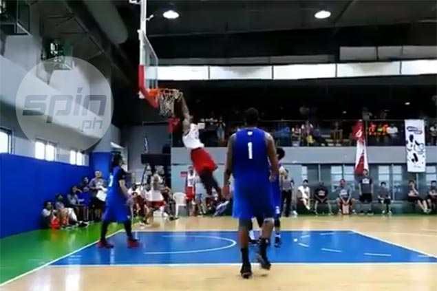 Shane Edwards throws down go-ahead slam to cap Ginebra comeback in tune-up win vs TNT