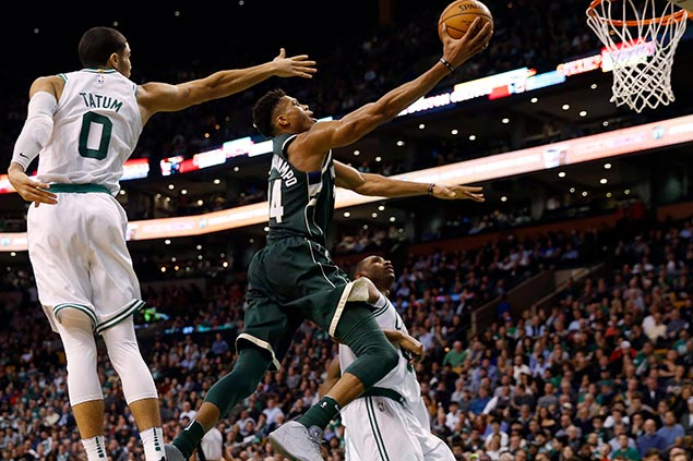 More intimidating, more confident Giannis looks to lead Bucks to new heights in third playoff run