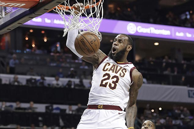 LeBron's over $2M investment on his body pays off as Cavs star better than ever at 33