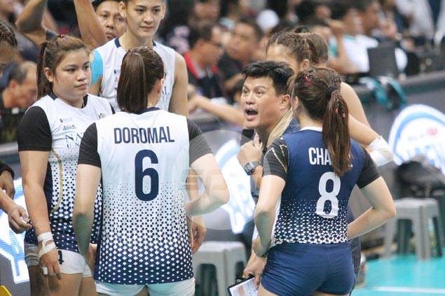 Babes Castillo urges NU players to raise game as they try to topple titleholder La Salle in semis