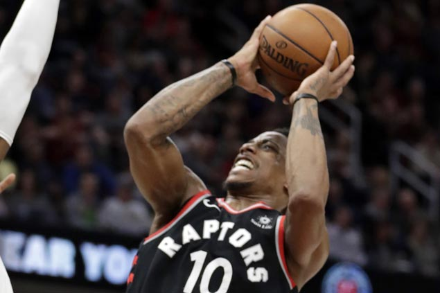 DeRozan scores career playoff-high 37, Raptors set team franchise postseason records in Game 2 rout of Wizards