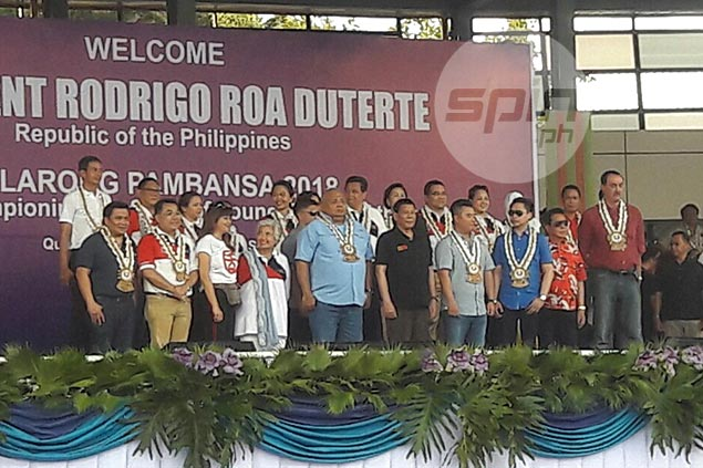 Duterte says sports, physical education can divert youth from a life of drugs