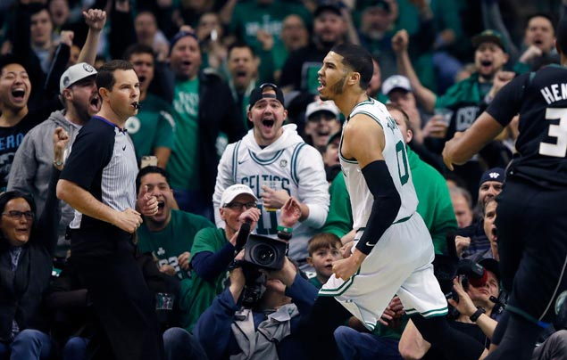 Celtics overcome Bucks in overtime thriller to take lead in first round playoff series