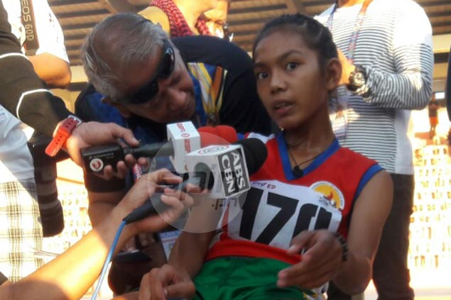 Bicol's Lheslie de Lima cops first gold in Palarong Pambansa amid confusion in 3K run