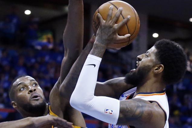 Paul George, Donovan Mitchell questionable for Game 2 as Thunder seeks 2-0 lead vs Jazz