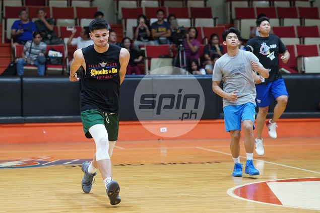 Kobe Paras willing to take on leadership role for new batch of Gilas Pilipinas cadets