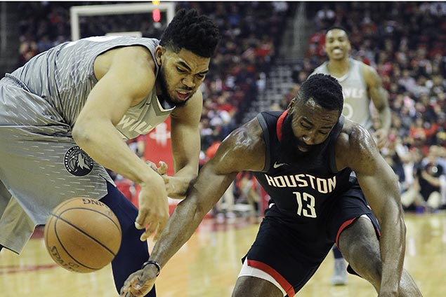 Thibodeau says Towns 'got to be more active' as Rockets tame Wolves star in playoff debut