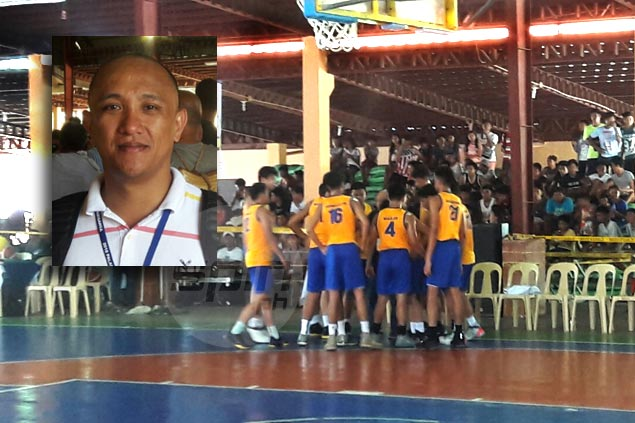 Former PBA photog Nuki Sabio now in the middle of action as Bicol coach in Palaro
