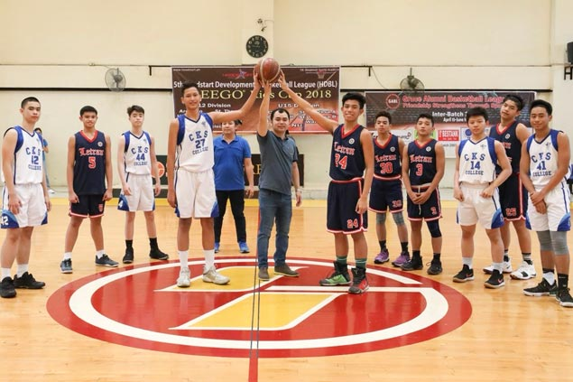 Letran provides opening fireworks in Freego Kids caging with shock win over CKS